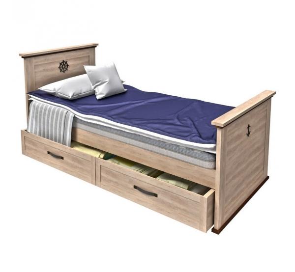 Кровать Sk Bed-120 Шкипер