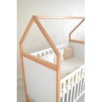 Кроватка для новорожденных Домик Angelo