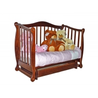 """Детская кроватка """"Ляля"""" орех"""