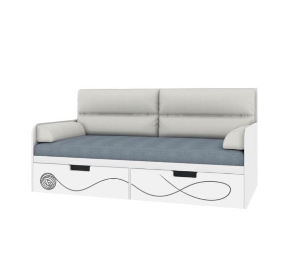 Детский диванчик с мягкой частью Кетс