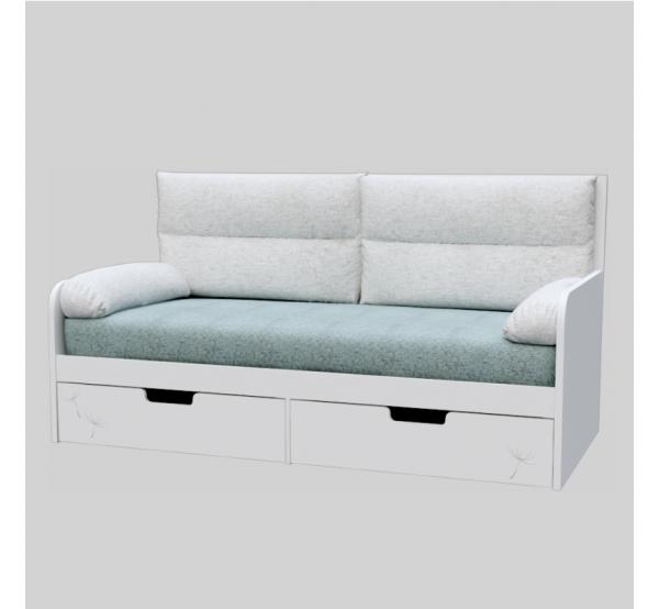 Детский диван с мягкой частью KL-L-010 Кульбабка