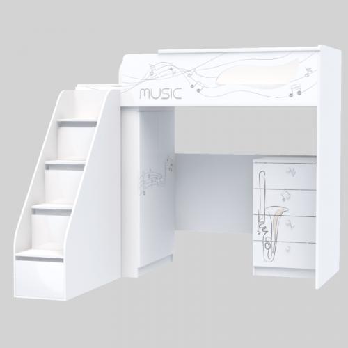 Комплект мебели для подростка из серии Мusic M-M-002