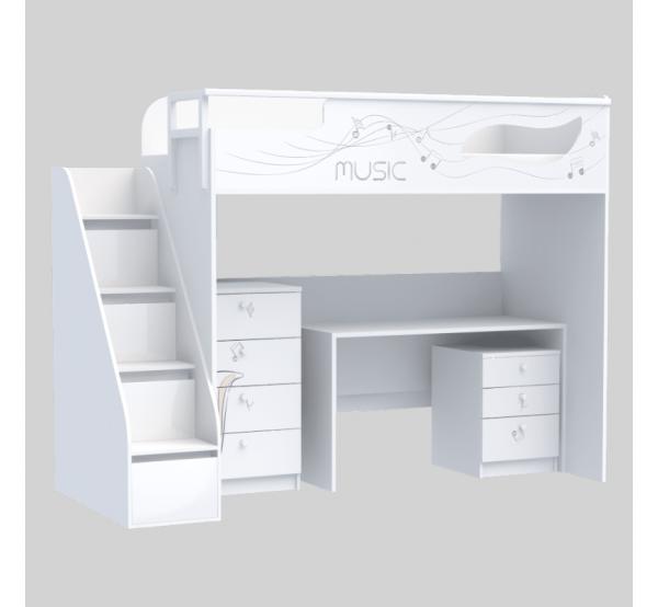 Комплект мебели для подростка из серии Мusic M-M-004