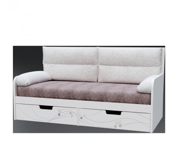 Детский диван с мягкой частью M-L-010 Music