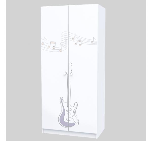 Детский шкаф M-SH-001 Music