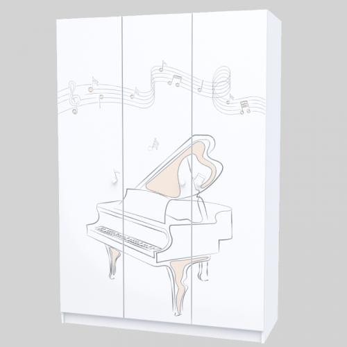 Шкаф M-SH-002 Music