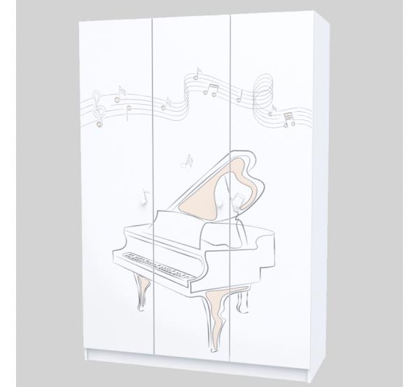 Детский шкаф M-SH-002 Music