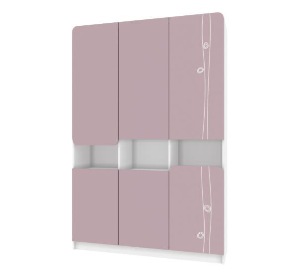 Пенал TR-P-001/5 Rose