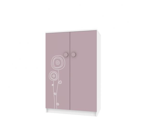 Детский шкаф TR-SH-004 Rose