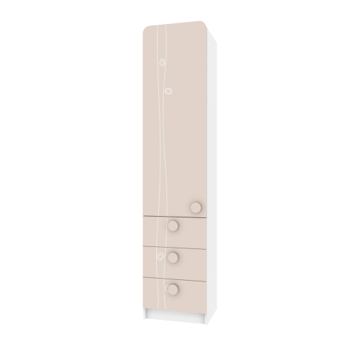 Пенал TR-P-004/4 Rose