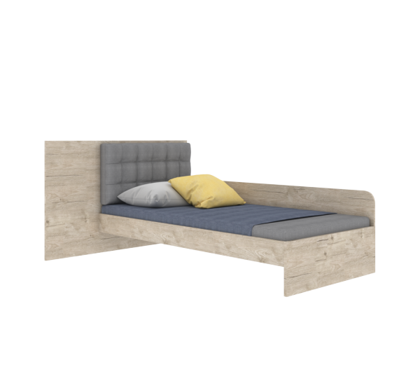 Детская кровать AN-L-006 Энималс