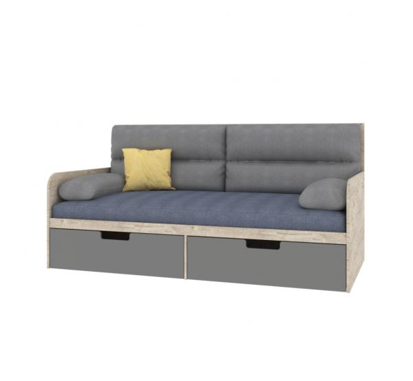 Детский диван с мягкой частью AN-L-010 Энималс