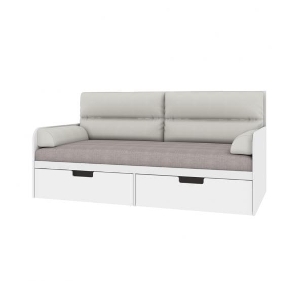 Детский диванчик с мягкой частью Экстрим. Е-L-010