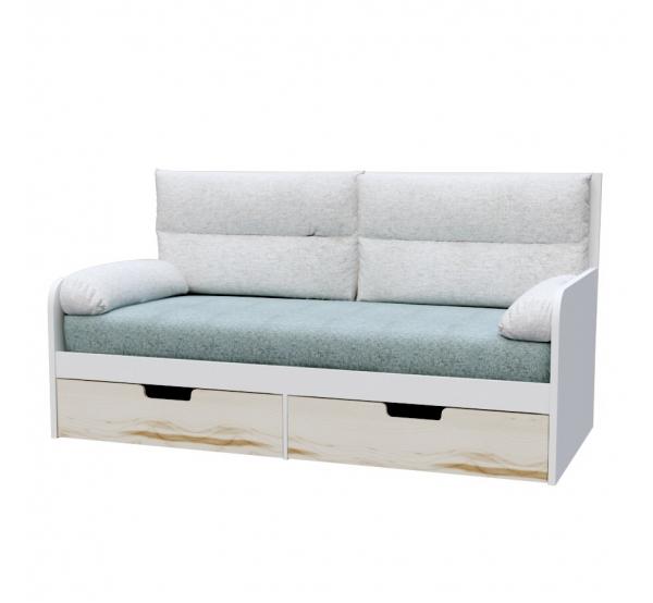 Детский диванчик с мягкой частью Оригами O-L-010