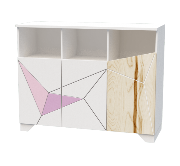 Тумба Оригами O-T-002-4