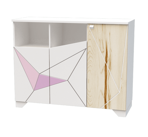 Тумба Оригами O-T-002-9