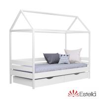 Кровать детская деревянная Домик 80*190