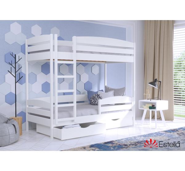 Детская кровать двухъярусная Дуэт плюс
