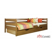 Кровать односпальная деревянная Нота 80*190