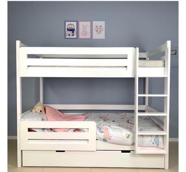 Детская кровать двухъярусная дерево  505W