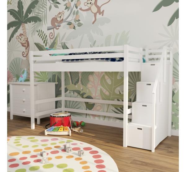 Детская кровать-чердак конструктор 301W
