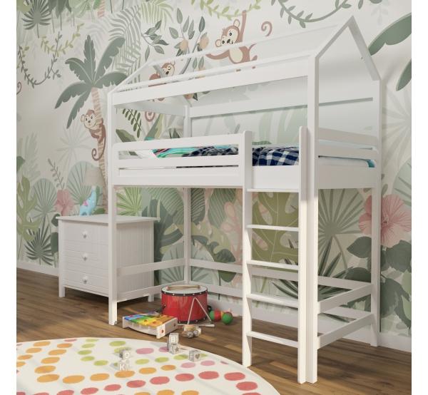 Детская кровать-чердак домик 308 W