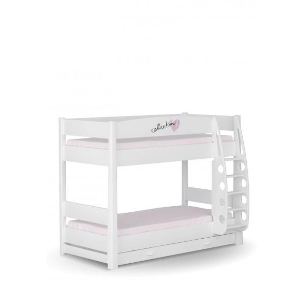 Детская двухъярусная кровать Фэшн минт Meblik