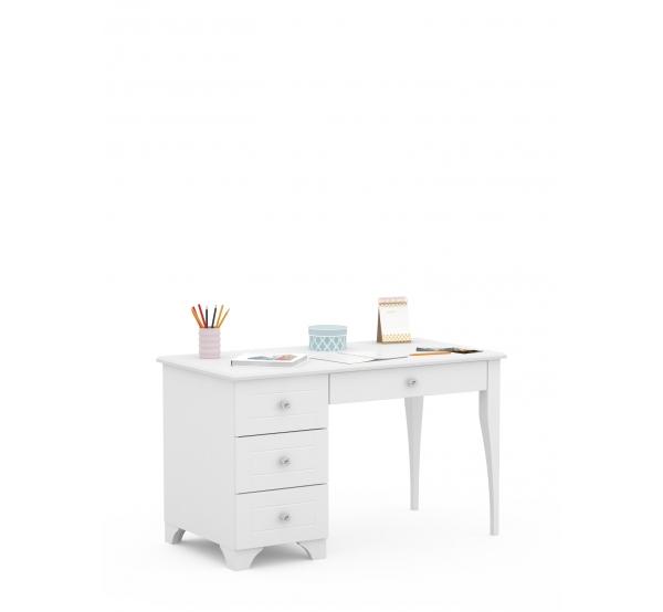 Детский  письменный стол Re 120 левый Boho