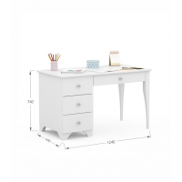 Письменный стол Re 120 левый Boho Meblik