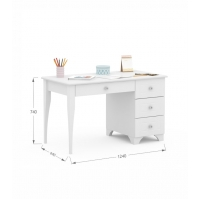 Письменный стол Re 120 правый Boho Meblik