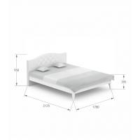 Кровать Re Crystal 160/200 Boho Meblik
