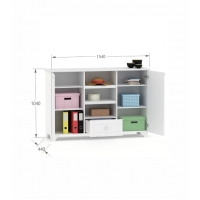 Книжный шкаф Re 150 Boho Meblik