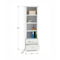 Книжный шкаф Re 60 Boho Meblik