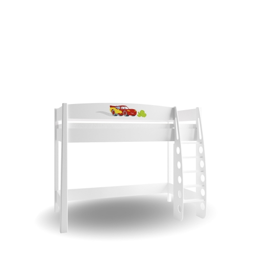 Кровать-чердак 90х190 Cars