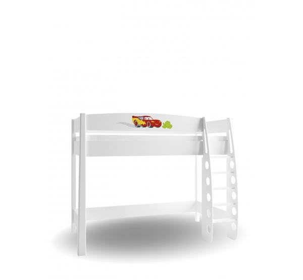 Детская кровать-чердак 90х190 Cars