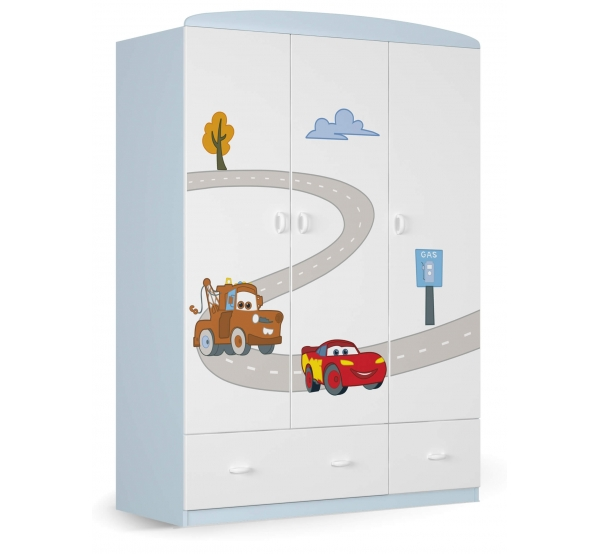 Детский шкаф 135 Cars