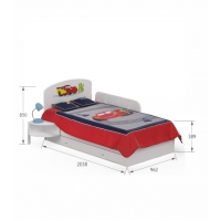 Кровать 90х170 Cars