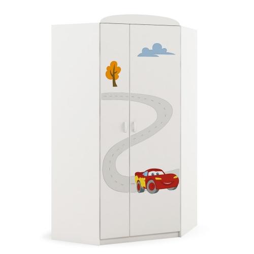 Шкаф угловой Cars