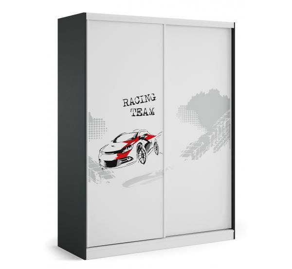 Детский шкаф-купе YO 160 Drift Meblik