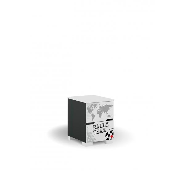 Тумбочка-контейнер YO Drift Meblik