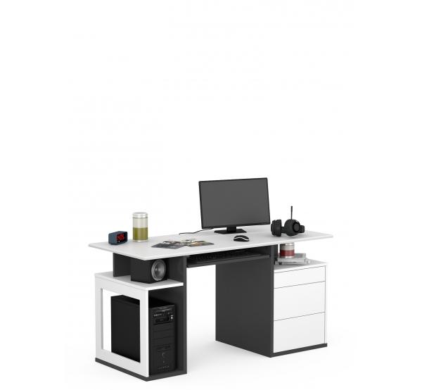 Детский письменный стол Game Box Uni Dark