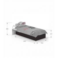 Кровать YO 120x190 Drift Meblik