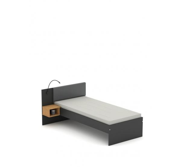 Кровать SN-90 Dark Oak Meblik