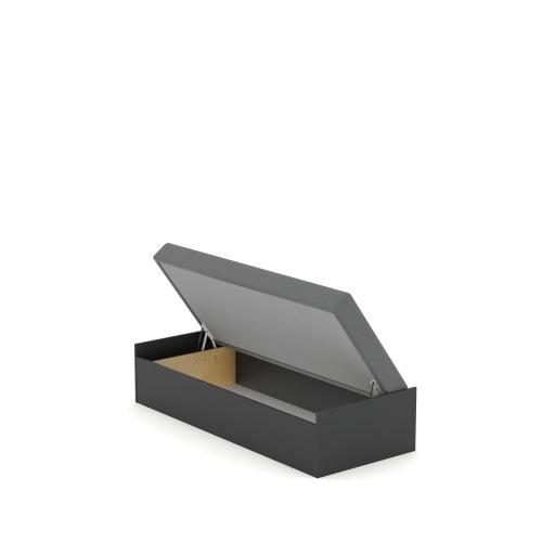 Кровать 90x200 с матрасом Open Dark Meblik
