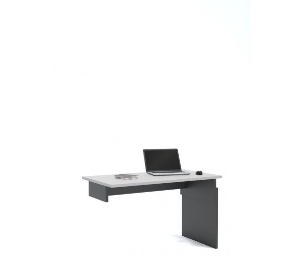 Детский письменный стол Flex Plus 125 Young Grey Dark Meblik