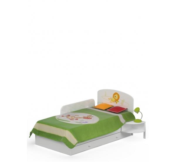 Детская кровать 90х170 Happy Animals Meblik