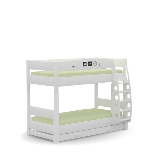 Двухъярусная детская кровать LOL