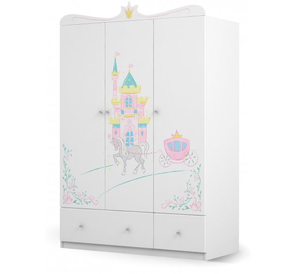 Детский шкаф 135 Magic Princess