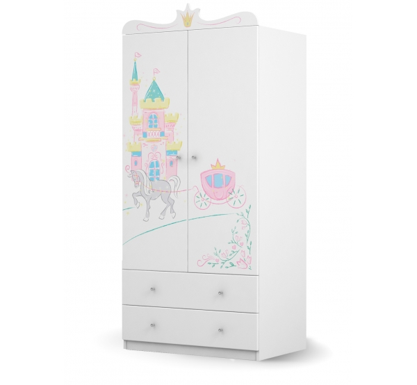 Шкаф 90 Magic Princess