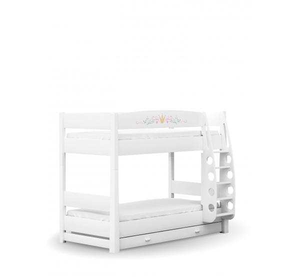 Двухъярусная детская кровать 90х190 Magic Princess Meblik
